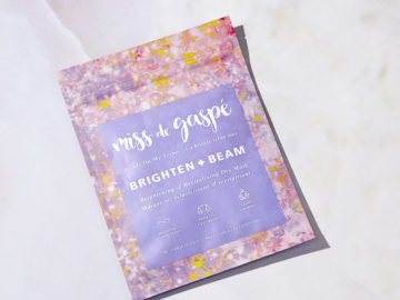 Miss de Gaspe   Brighten & Beam Dry Mask available on Global Glow